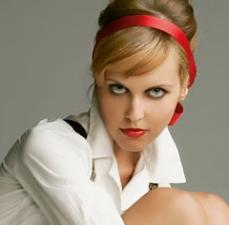 Sussan Zeck als playGOLF!-Covergirl